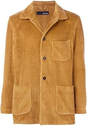 Lardini corduroy button shirt