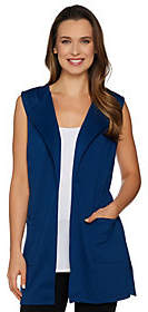 Joan Rivers Classics Collection Joan Rivers Open Front Vest with Pockets