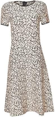 Michael Kors Brocade Printed Dress