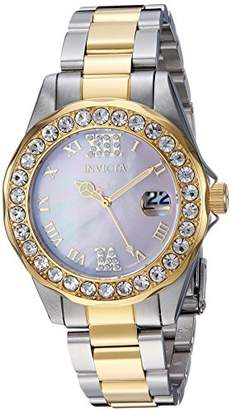 Invicta Women's 'Sea Base' Quartz Stainless Steel Casual Watch