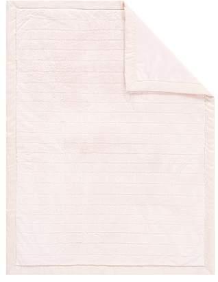 Pottery Barn Kids Monique Lhuillier Channel Faux Fur Baby Blanket, Blush Pink