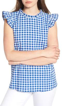 Gibson x Hi Sugarplum! Kamari Gingham Top