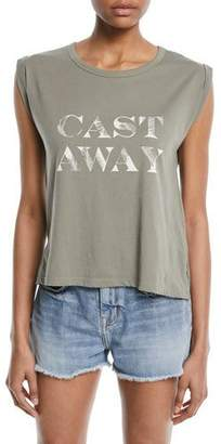 "Joie Ediline Sleeveless ""Cast Away"" Tee"