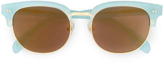 Wildfox Couture mirrored sunglasses