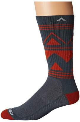 Wigwam Gunnison Trail NXT Crew Cut Socks Shoes