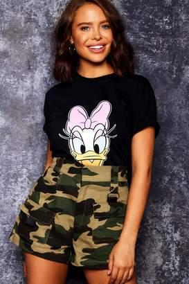 boohoo Disney Daisy Print Tee