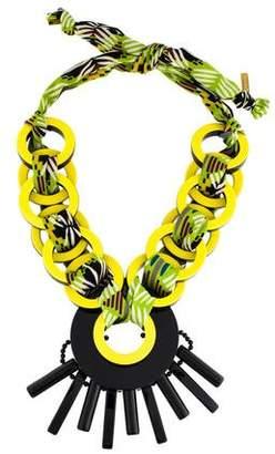Etro Resin Collar Necklace