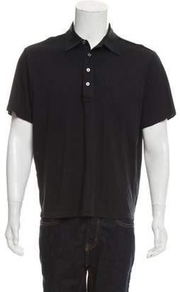 Michael Kors Button-Up Polo Shirt