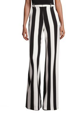 Alice + Olivia Paulette Striped Wide-Leg Pants $295 thestylecure.com