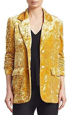 Derek Lam 10 Crosby Women's Oversize Velvet Blazer