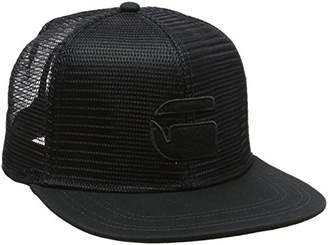 G Star G-Star Men's Cart Trucker Cap Baseball (Dark Black), One (Size: Piece)