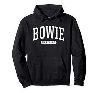 Bowie Hoodie Sweatshirt College University Style MD USA.