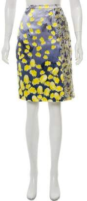 Prabal Gurung Knee-Length Printed Skirt
