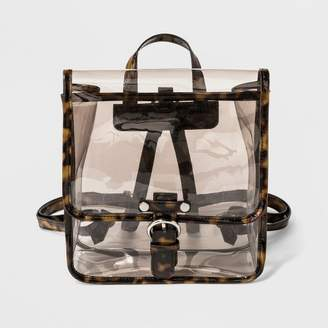 Wild Fable Square Tortoise Jelly Trim Backpack - Wild Fable Tortoise