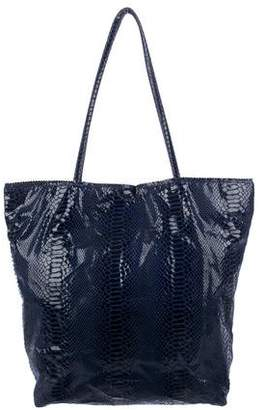 Carlos Falchi Fatto a Mano by Embossed Shopping Tote