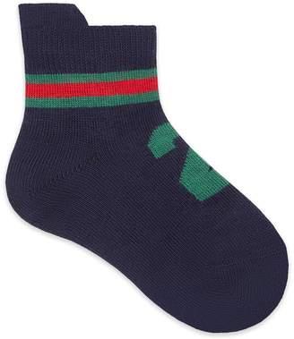 "Gucci Baby stretch cotton ""25"" socks"