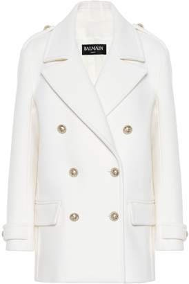 Balmain Wool pea coat