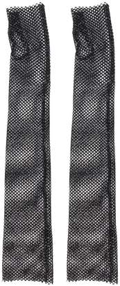 Philosophy di Lorenzo Serafini sheer mesh long gloves