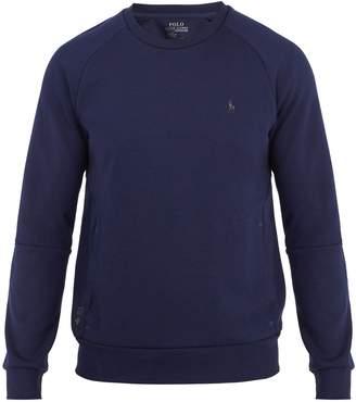 Polo Ralph Lauren Crew-neck logo-print performance sweatshirt