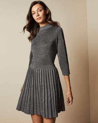Ted Baker NOALEEN High neck mini knitted dress
