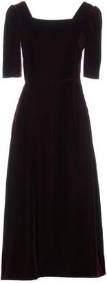 Saint Laurent 3/4 length dresses