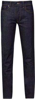 Burton Mens Tall Indigo Tyler Stretch Skinny Fit Raw Jeans