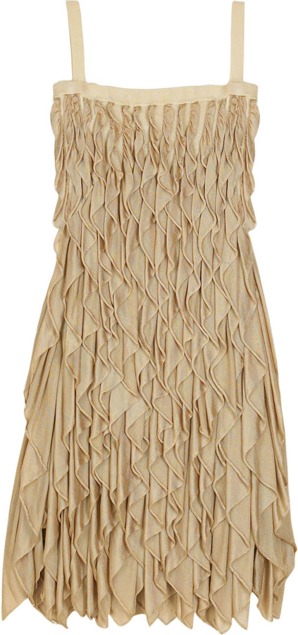 Temperley London Camille ruffle dress
