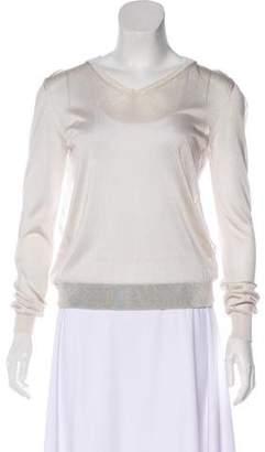 Maison Margiela Knit Long Sleeve Top