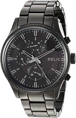 Relic Men's 'Ryan' Quartz Metal and Alloy Casual Watch