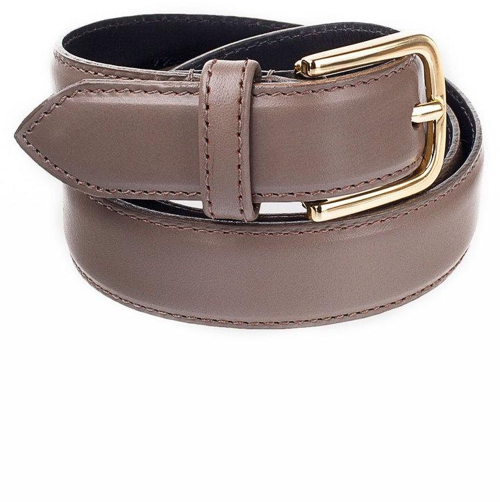 Unisex Basic Leather Belt