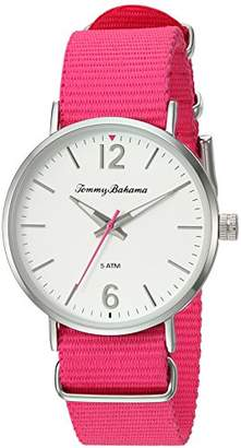 Tommy Bahama Women's Quartz Stainless Steel and Nylon Casual Watch