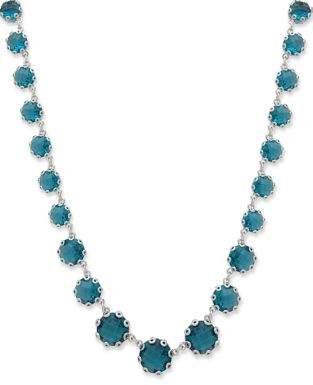 Jenny Packham Sapphire Station Necklace