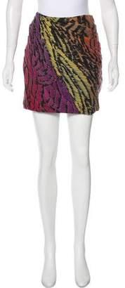 Diane von Furstenberg Silk Navarette Skirt