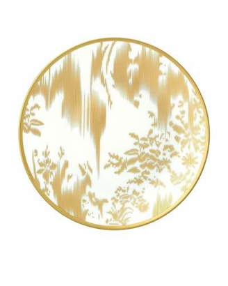Hermes Ikat Gold Bread & Butter Plate