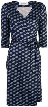 Diane von Furstenberg Julian jersey wrap dress