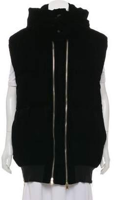 Stella McCartney 2016 Velvet Vest