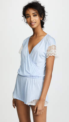 Only Hearts Something Blue Playsuit