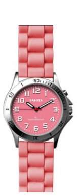 Dakota Water resistant, Nurse Watch with Silicon Strap and EL Backlight