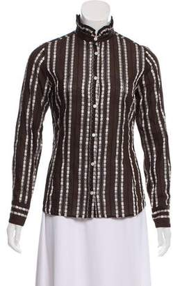 Paul & Joe Long Sleeve Button-Up Top