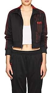 adidas by Alexander Wang Women's Crop Track Jacket-Black