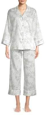 Natori Printed Cotton Pajamas