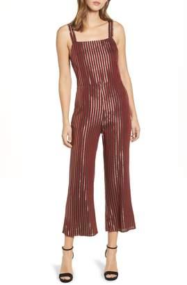 4147c5df6e3 Show Me Your Mumu Yvonne Metallic Stripe Jumpsuit