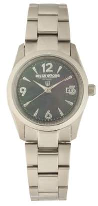 Mother of Pearl River Woods Women's RW 3 L BPD SS Mother-of-pearl Watch