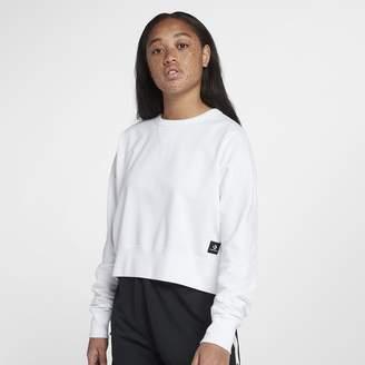 Converse Essentials Lightweight Cropped Crew Women's Sweatshirt