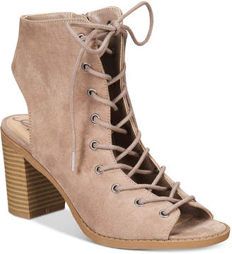 American Rag Savanah Lace-Up Sandals, Only at Macy's $69.50 thestylecure.com
