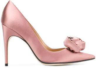 Sergio Rossi Rose pointed pumps