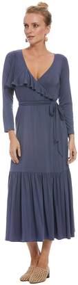 Rachel Pally Nadine Wrap Dress - Slate