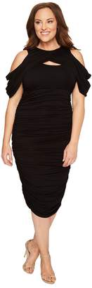 Kiyonna Bianca Ruched Dress Women's Dress