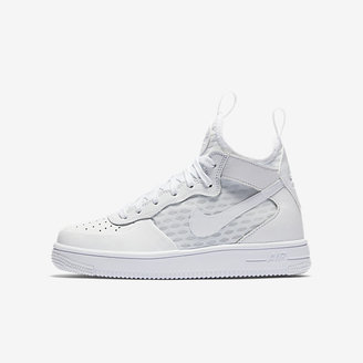 Nike Air Force 1 Ultra Mid Big Kids' Shoe $95 thestylecure.com