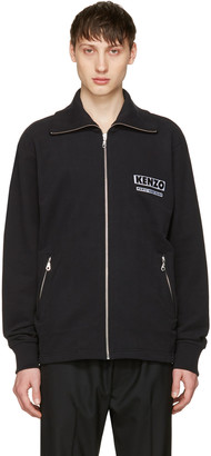 Kenzo Black 'Come Out' Track Jacket $410 thestylecure.com